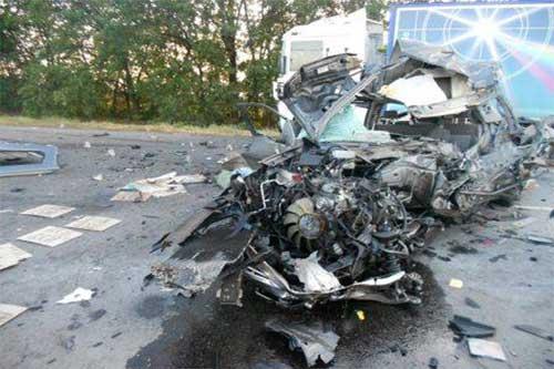 У ДТП в Полтавській обл. загинули 2 людини, ще 1 - у лікарні