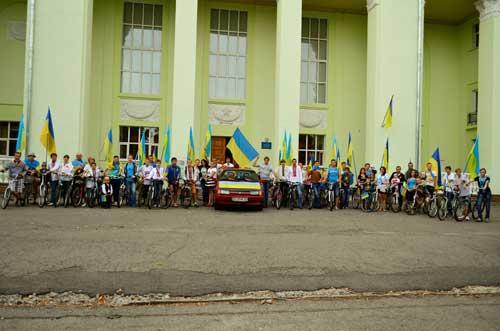 У Гребінці відбувся «Велопробіг Миру»