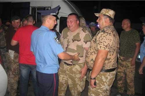 Працівники Державтоінспекції Полтавщини повернулися із зони АТО