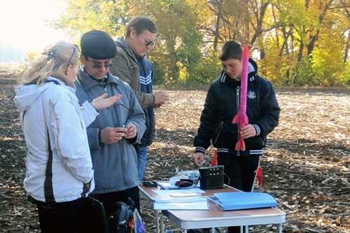 На Полтавщині відбулись змагання з ракетомодельного спорту