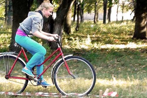 На Гребінківщині велосипедисти показали свій рівень