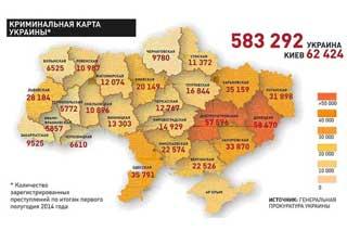 Полтавщина 12-та в кримінальному рейтингу України